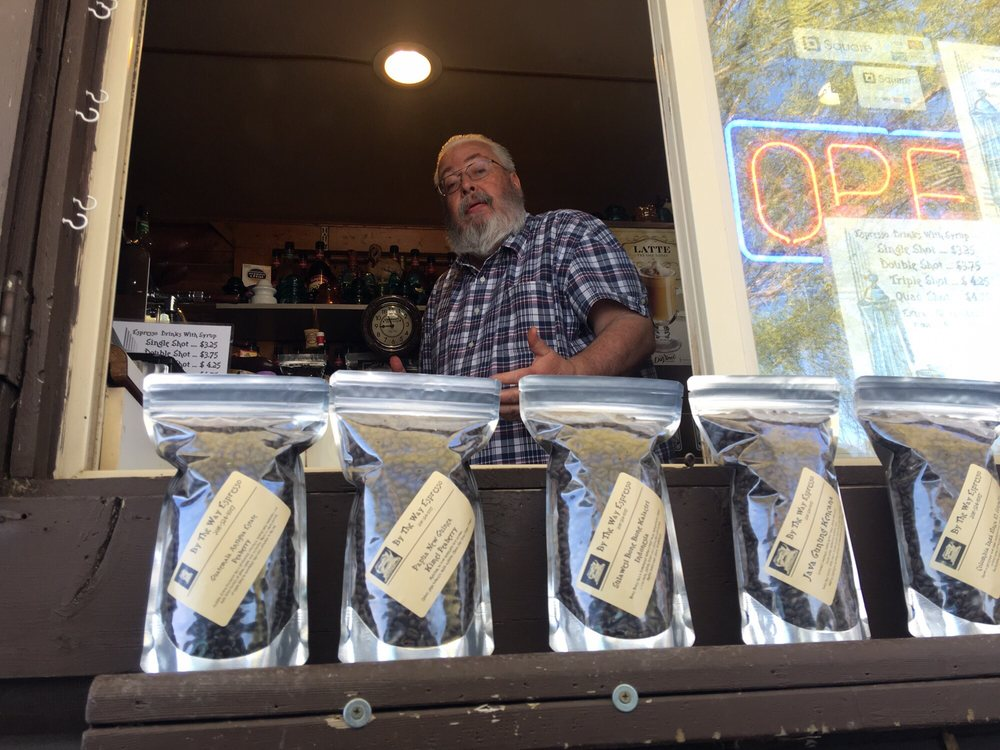 By The Way Espresso: 5722 US Hwy 93, Jerome, ID