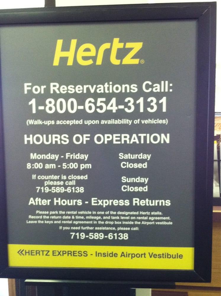 Hertz Rent A Car Alamosa Co