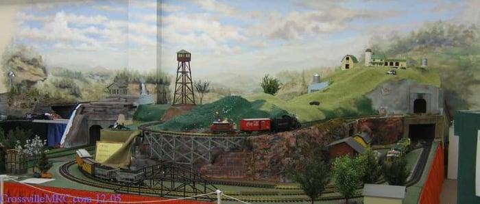 Crossville Model Railroad Club: 228 Interstate Dr, Crossville, TN