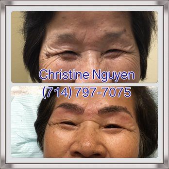 Photo Of Microblading Eyebrows By Christine   Garden Grove, CA, United  States. Great