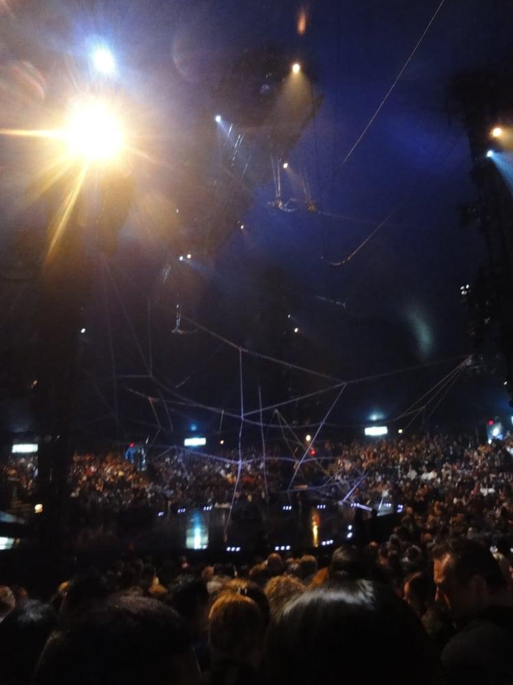 Cirque Du Soleil Tents Interior Yelp