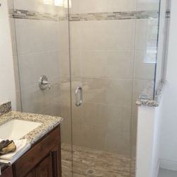 photo of ronnies 24 hour glass and door repair fort worth tx united - Bathroom Mirrors Fort Worth Tx