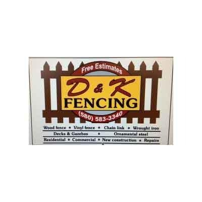D and K Fencing: 316 Wildflower Cir, Cache, OK