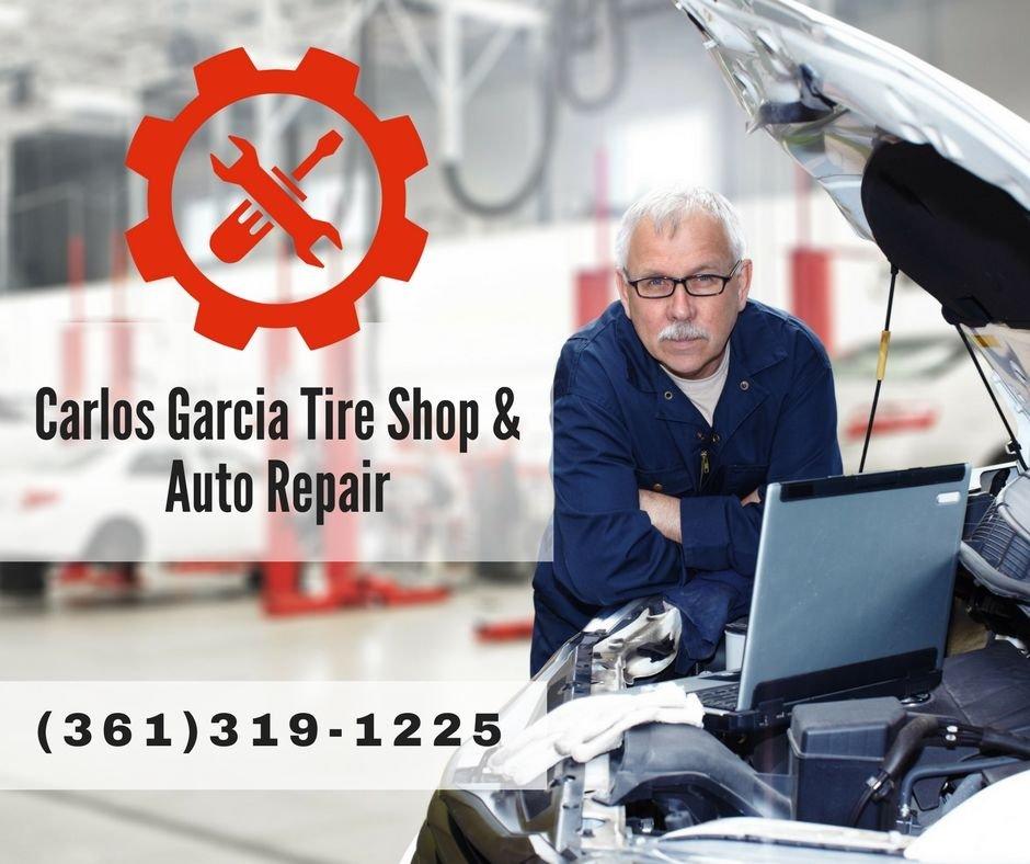 Carlos Garcia Tire Shop & Auto Repair: George West, TX
