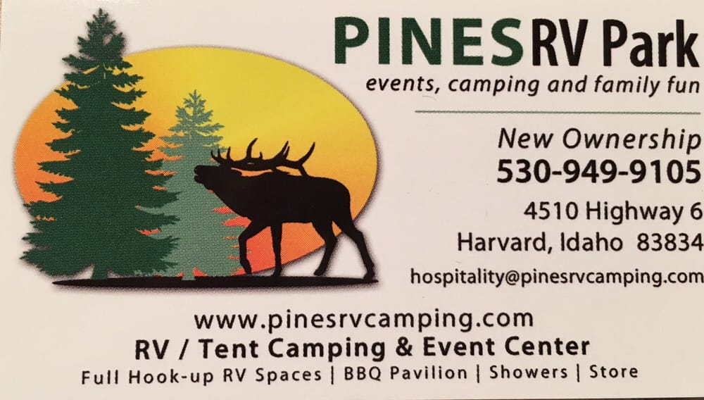 New business card yelp photo of pines rv park harvard id united states new business card colourmoves