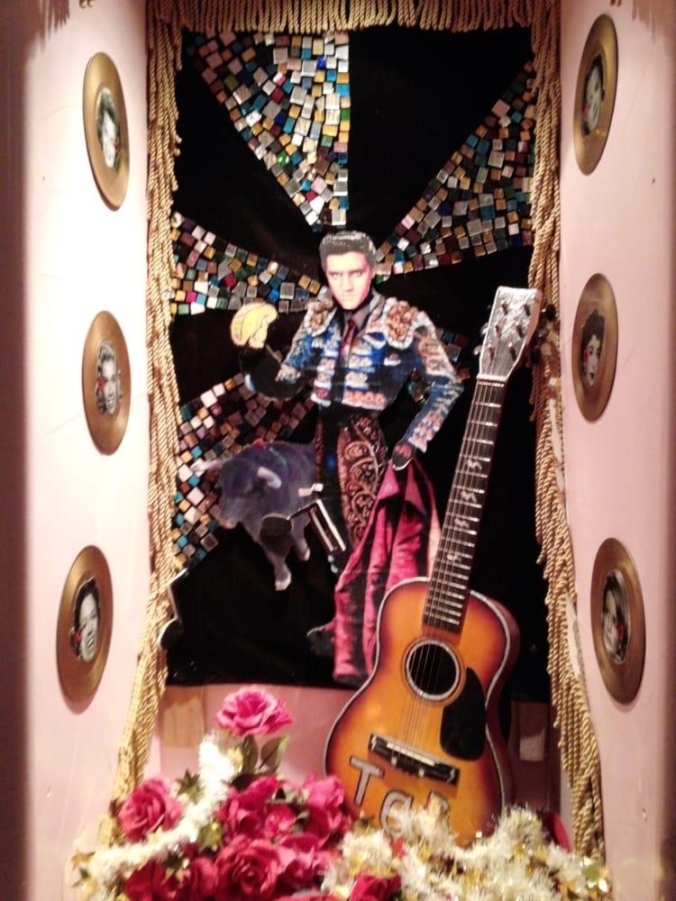 Elvis Shrine At Chuy S In San Antonio Texas Yelp