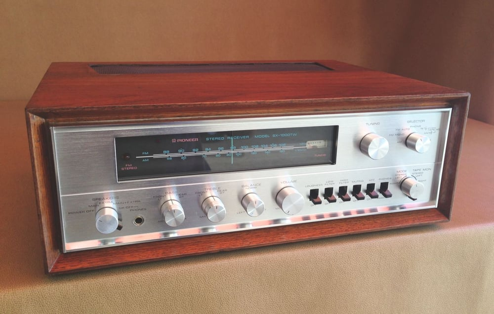 Pioneer S First Ever Solid State Receiver Circa 1970