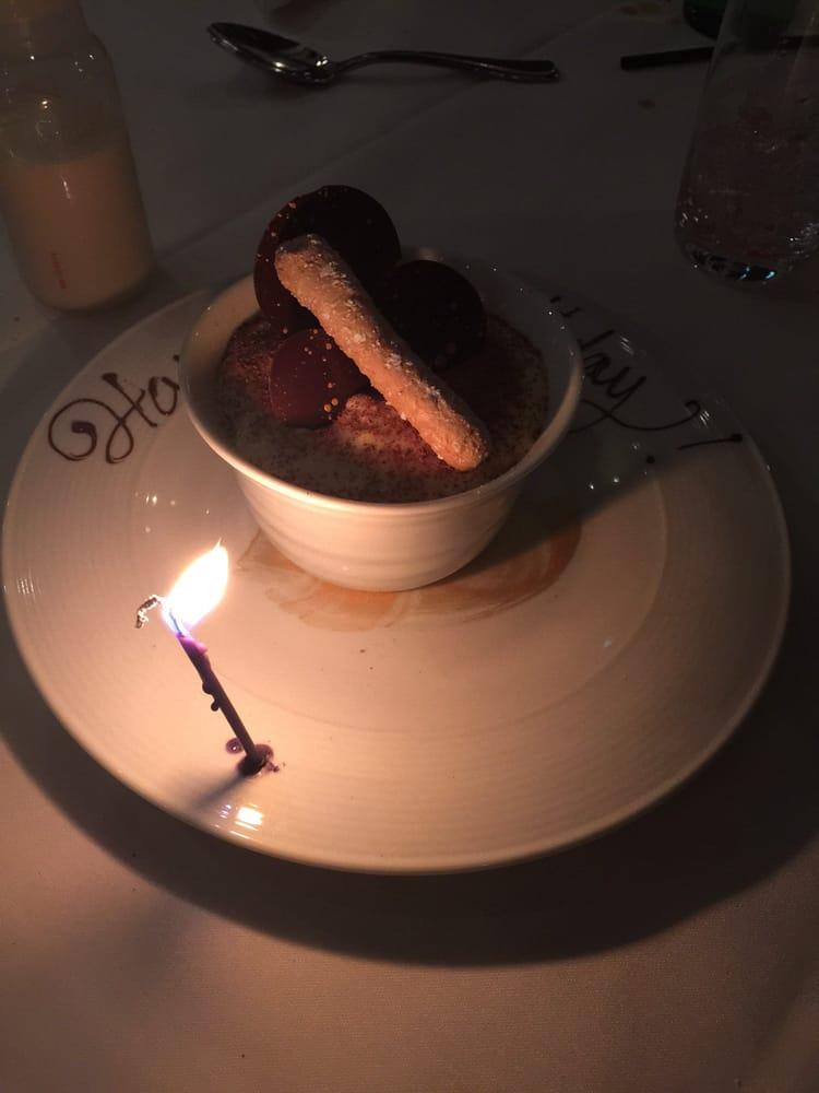 Complimentary Birthday Dessert Because It Was My Birthday