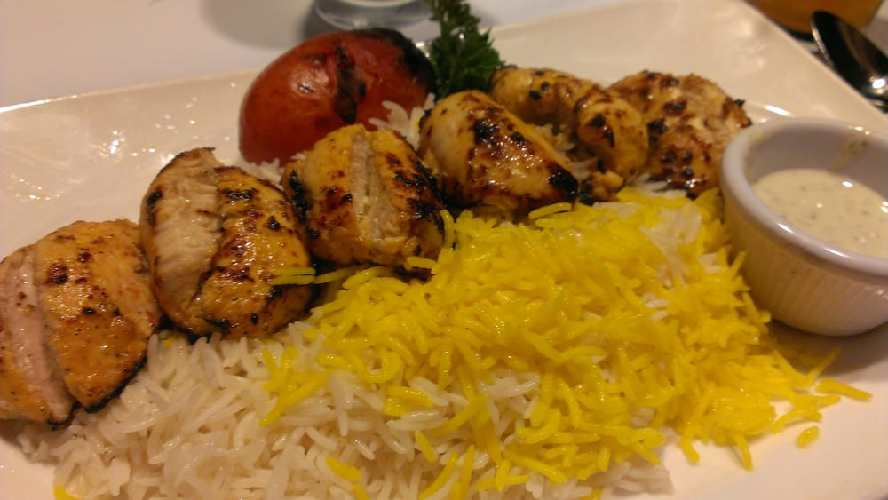 Boneless chicken kabab yelp for Arya global cuisine redwood city
