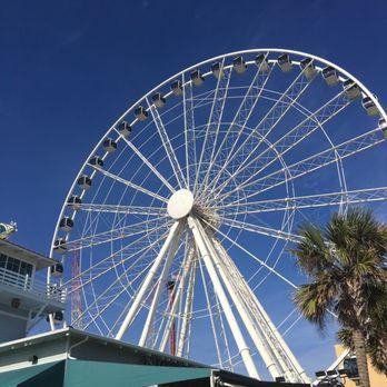 Photo Of Myrtle Beach Skywheel Sc United States Up