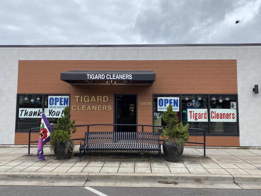 Tigard Cleaners: 12519 SW Main St, Tigard, OR