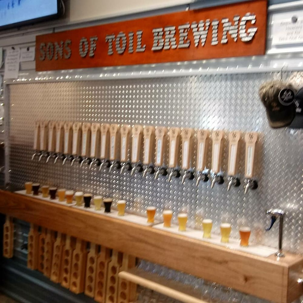 Sons Of Toil Brewing: 14090 Klein Rd, Mount Orab, OH