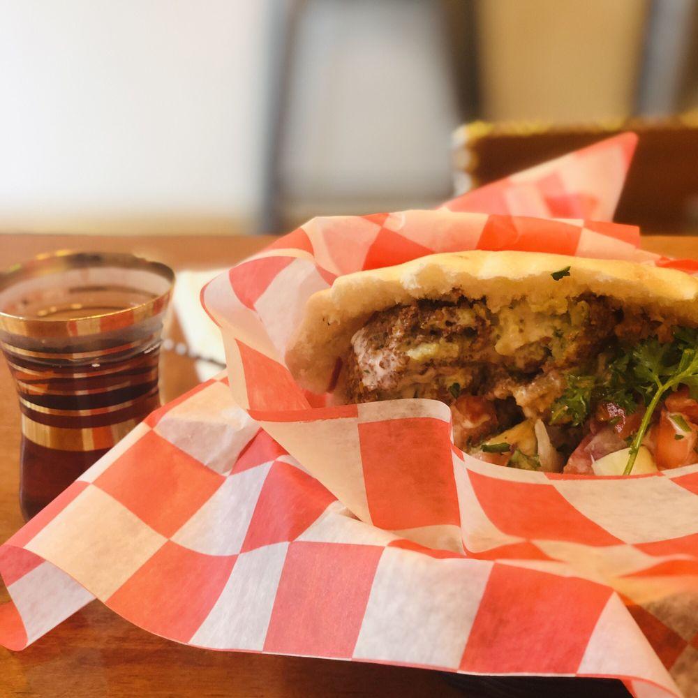 Food from Lava Shawarma