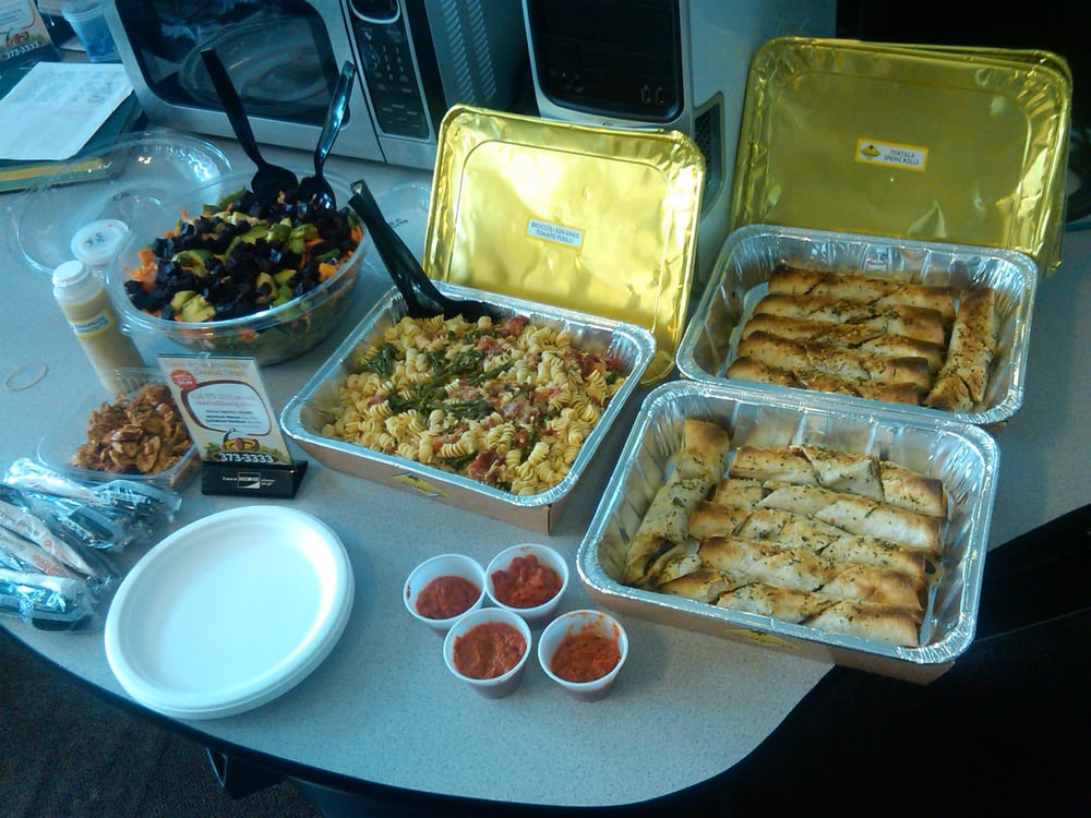 business lunch catering from california pizza kitchen: pasta