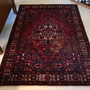 Our First Persian Rug From Photo Of Heriz Augusta Ga United States