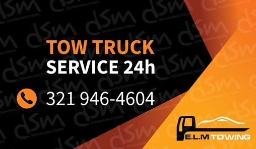 E L M Towing: 1227 W Michigan St, Orlando, FL