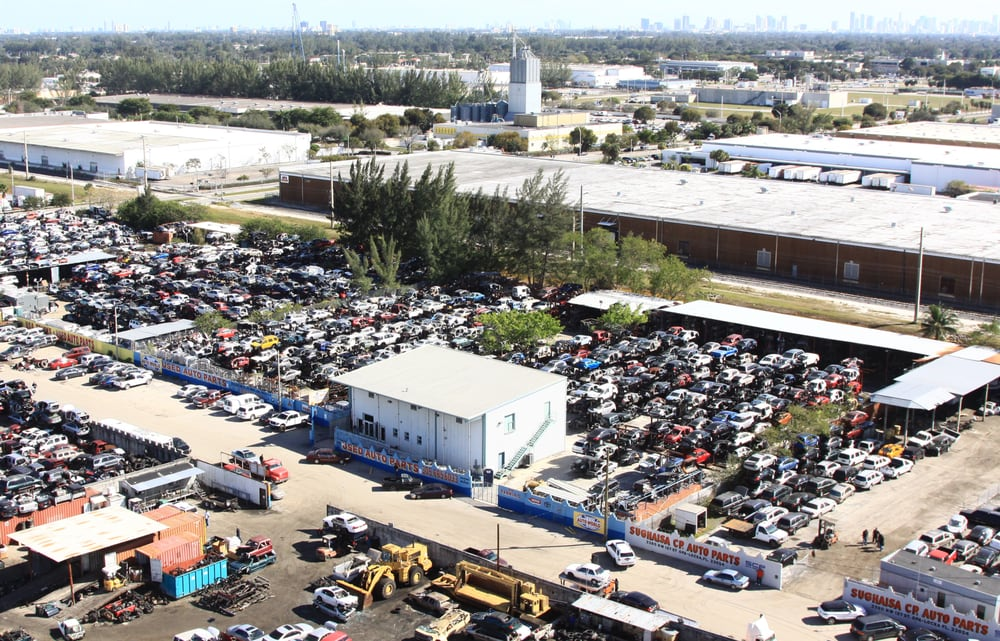 Opa Locka Junkyard >> One of the biggest and most organized Junk Yards in South