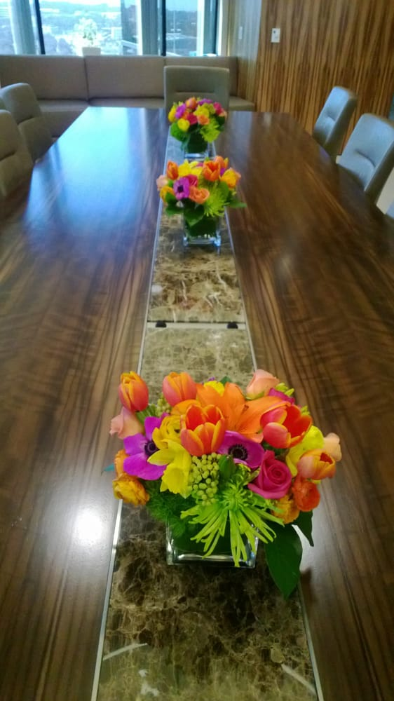 Rooms: Three Arrangements For The Meeting Table. The Room Is