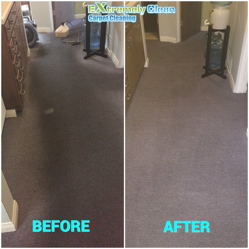 Extremely Clean Carpet Cleaning
