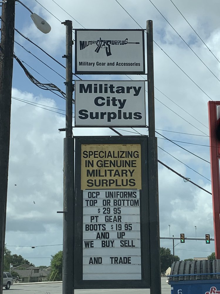 Military City Surplus: 2415 Harry Wurzbach, San Antonio, TX