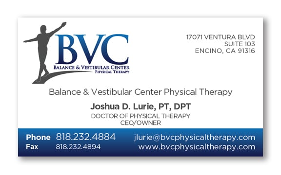 Joshua d lurie pt dpt business cards yelp photo of pro motion communications woodland hills ca united states joshua d colourmoves