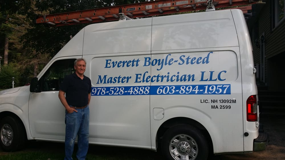 Everett Boyle-Steed Master Electrician: 13 Greenwood St, Amesbury, MA