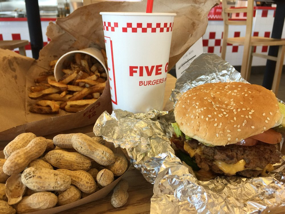 Five Guys: 1083 Edwards Ferry Rd NE, Leesburg, VA