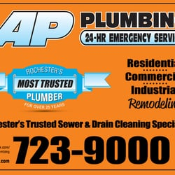 Ap Plumbing Photos Plumbing Ridgeway Ave Maplewood Rochester Ny Phone Number Yelp