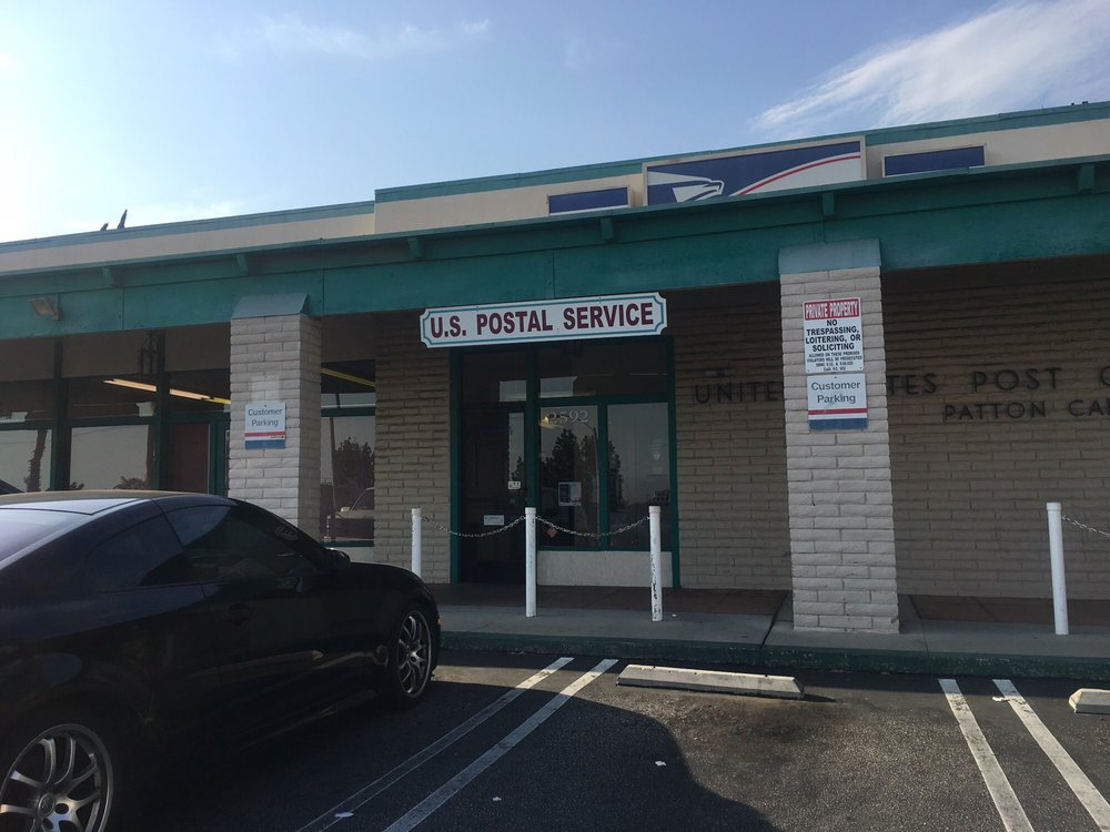 US Post Office: 2592 E Highland Ave, Patton, CA