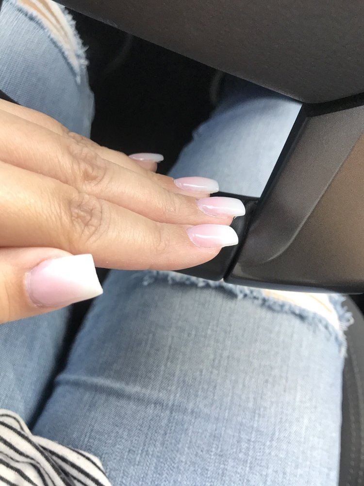 Photo Of Lovely Nails Granada Hills Ca United States Ombré Acrylic Square