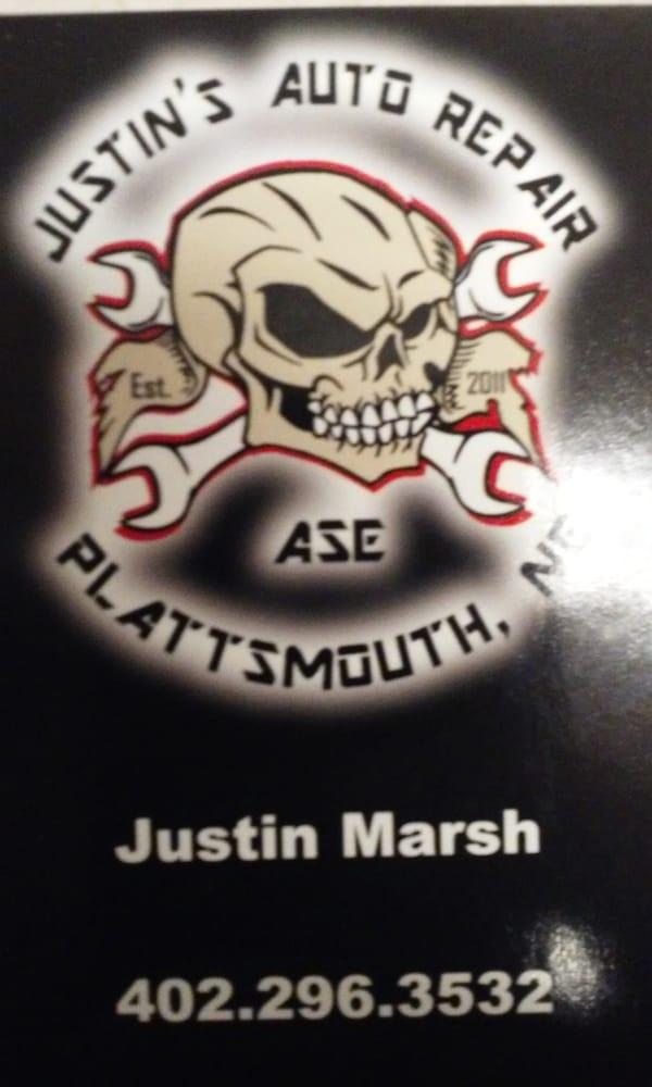 Justin's Auto Repair: 211 E Main St, Plattsmouth, NE
