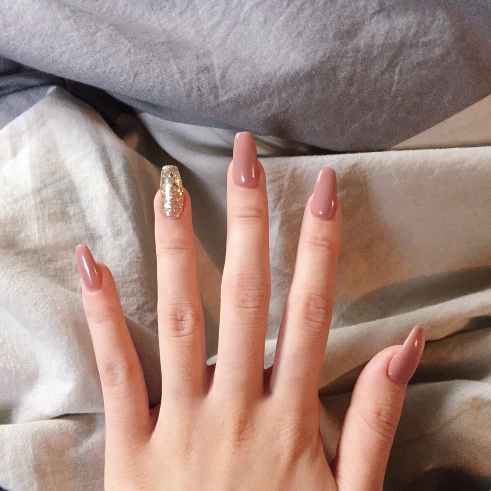 Nails by Lena! This is such a beautiful color combination. - Yelp