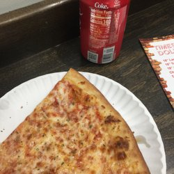 P O Of Time Square Dollar Pizza New York Ny United States