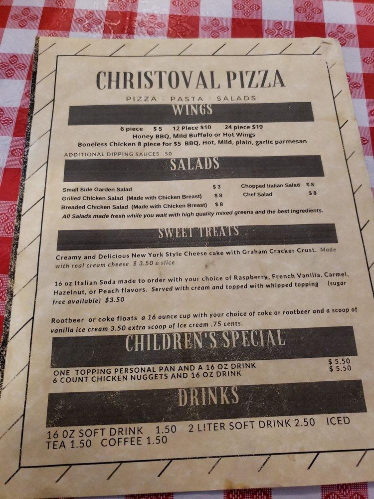 Christoval Pizza: 19955 Main St, Christoval, TX