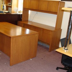 Photo Of Warehouse Office Products Leton Wi United States Desk And Credenza