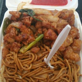 Orange Chicken And Noodles