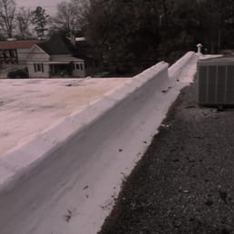 Photo Of Budget Roofing   Lake Wylie, SC, United States. Foam Coatings