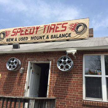 Photo of Speedy Tires - Laurel, MD, United States. The name says it all.