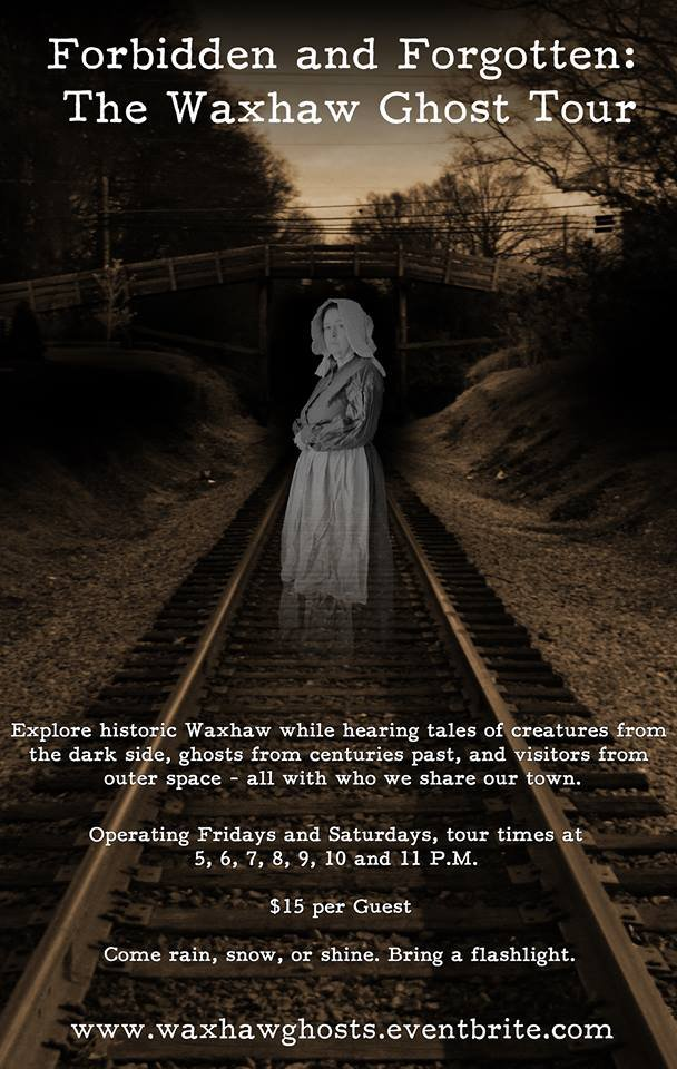 Forbidden and Forgotten: The Waxhaw Ghost Tour
