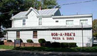 Food from Bob A-Rea's Pizza & Subs
