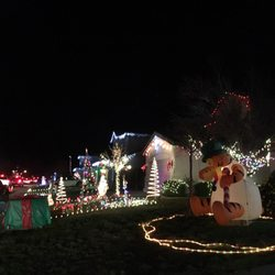 photo of pebble creek christmas lights rocklin ca united states