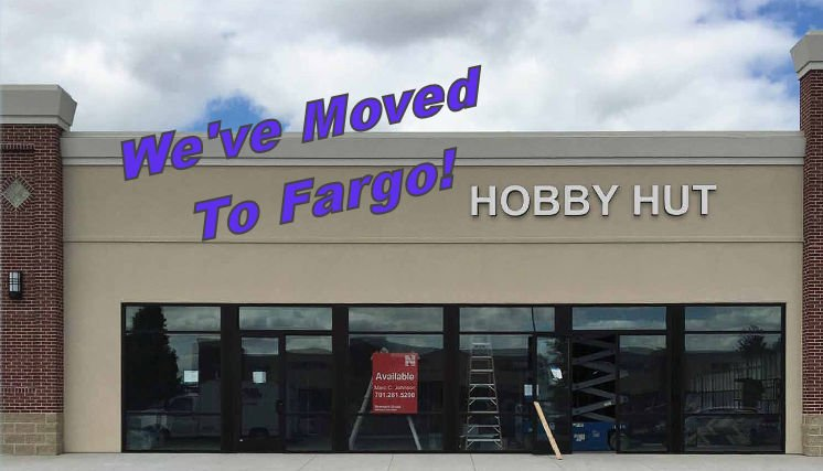 Hobby Hut: 4600 17th Ave S, Fargo, ND