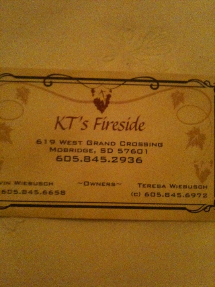 KT's Fireside Supper Club: 619 W Grand Xing, Mobridge, SD