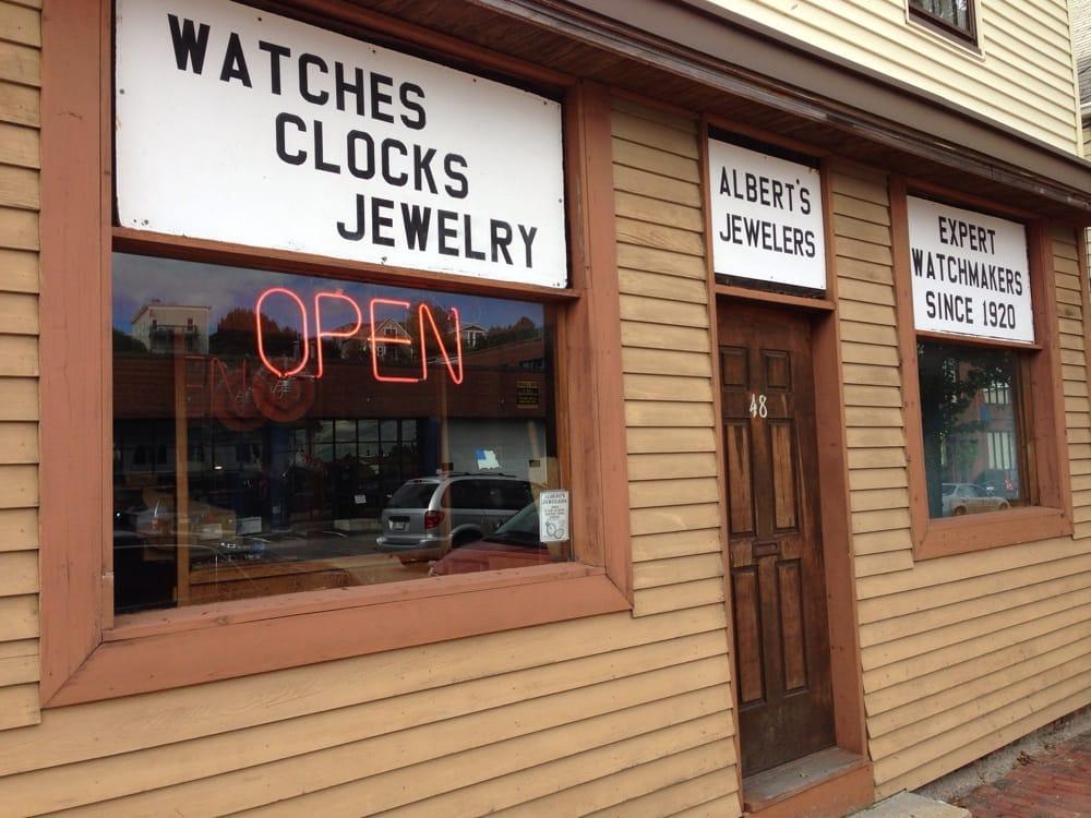 Albert's Jewelers: 48 Washington Ave, Portland, ME