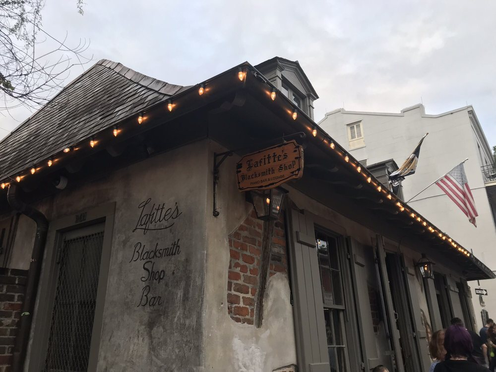 Photo of Lafitte's Blacksmith Shop Bar - New Orleans, LA, United States
