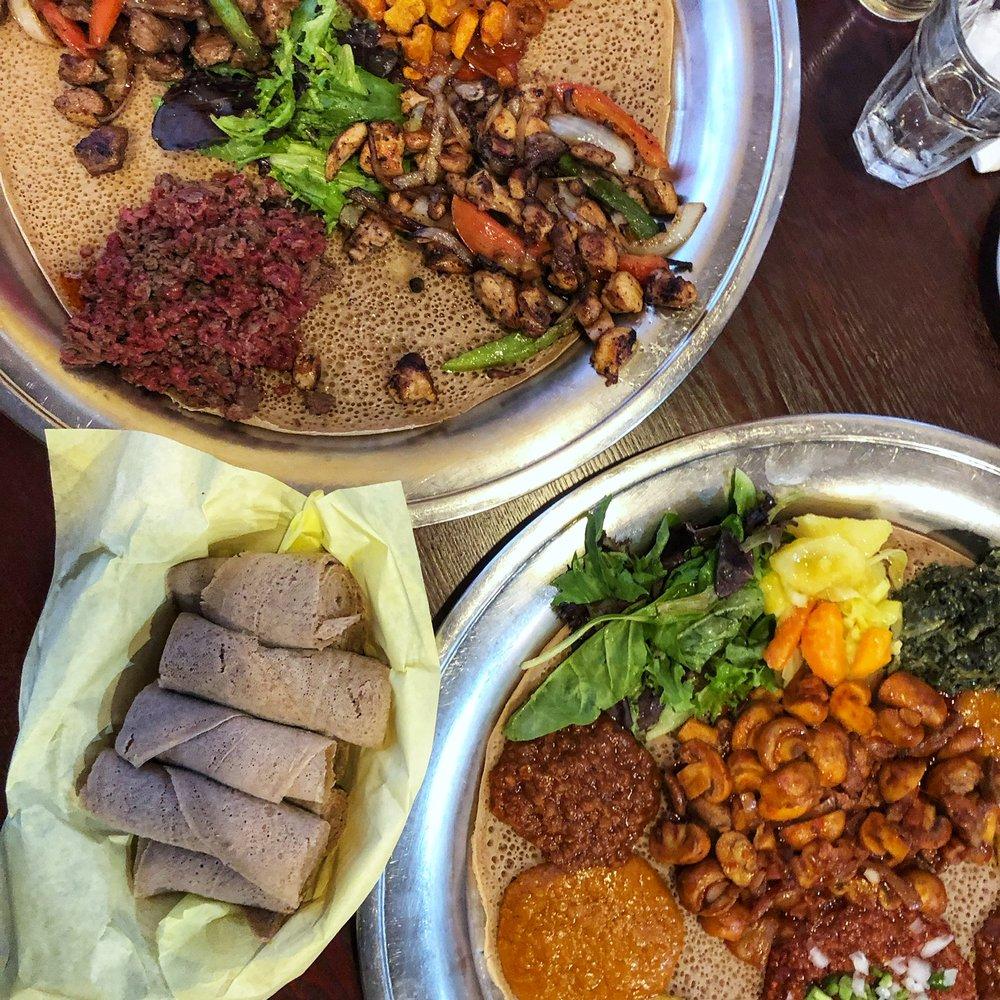 Walia Ethiopian Cuisine: 2208 Business Cir, San Jose, CA
