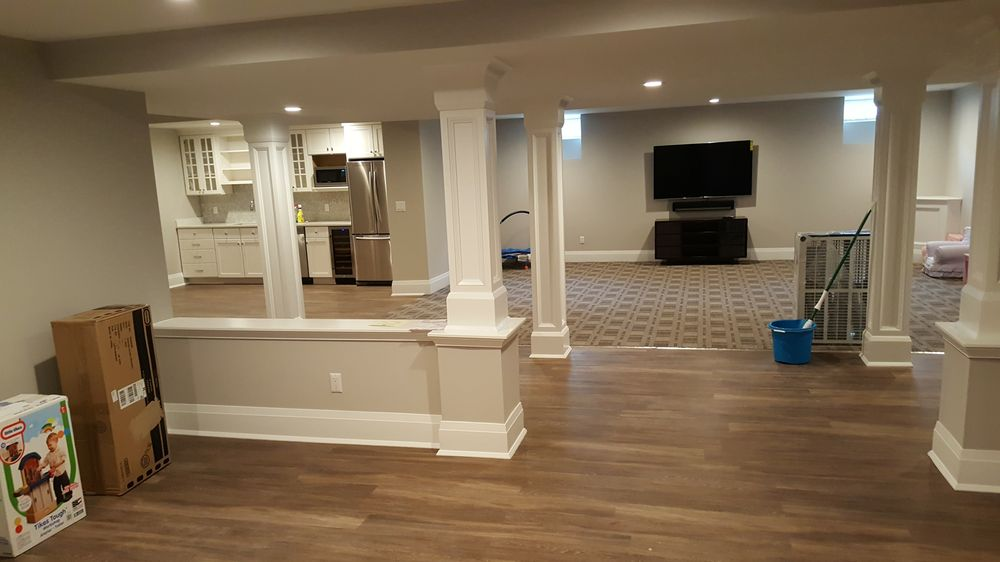Fully Finished Basement With Full Bathroom Kitchen Bedroom