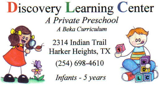 DISCOVERY LEARNING CENTER: 2314 Indian Trl, Harker Heights, TX