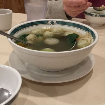 Photo Of Lotus Garden Vegetarian Restaurant Eugene Or United States Wonton Soup