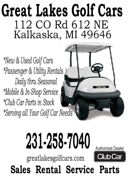 Great Lakes Golf Cars: 112 County Rd 612 NE, Kalkaska, MI